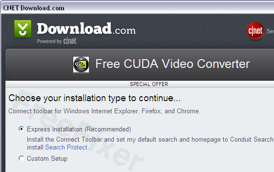 Connect Toolbar by Conduit Download.com Installer