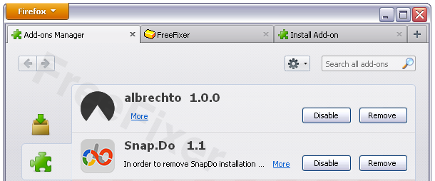 Albrechto 1.0.0 Firefox Extension