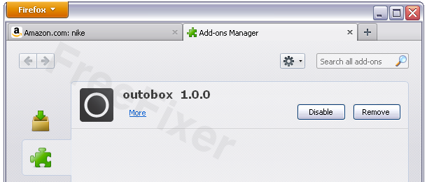 Outobox 1.0.0 Firefox Extension