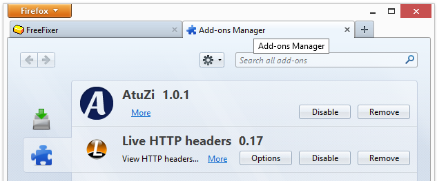 AtuZi In Firefox