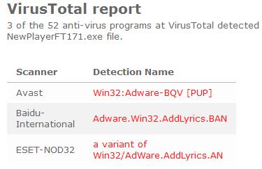 newplayer-virus-total