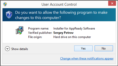 Sergey Petrov AppReady