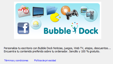 Bubble Dock installer