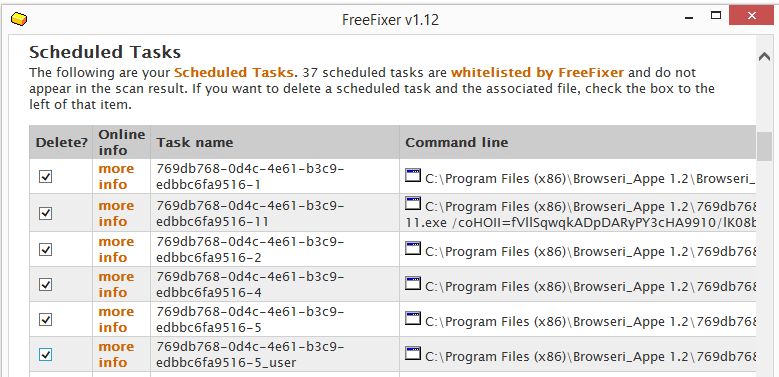 Browseri_Appe tasks