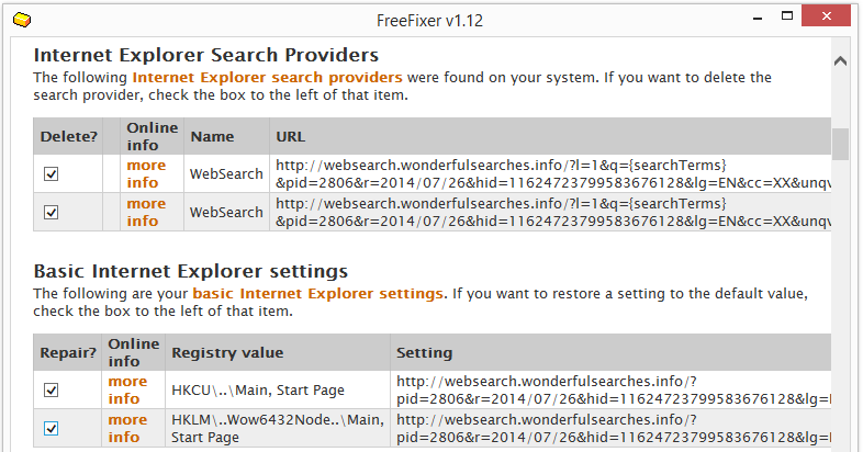 websearch.wonderfulsearches.info  ie search provider