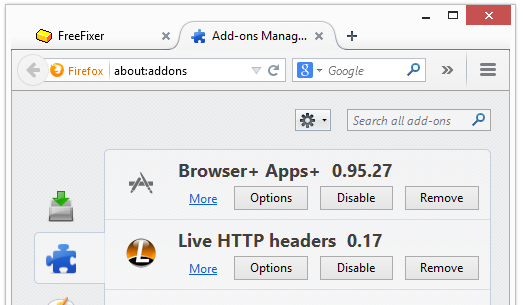 browser+ apps+ 0.95.27 firefox
