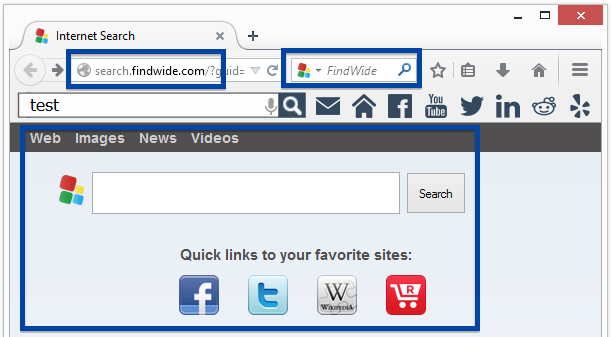 search.findwide.com and the findwide toolbar in firefox