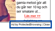 Ad by ProtectedBrowsing