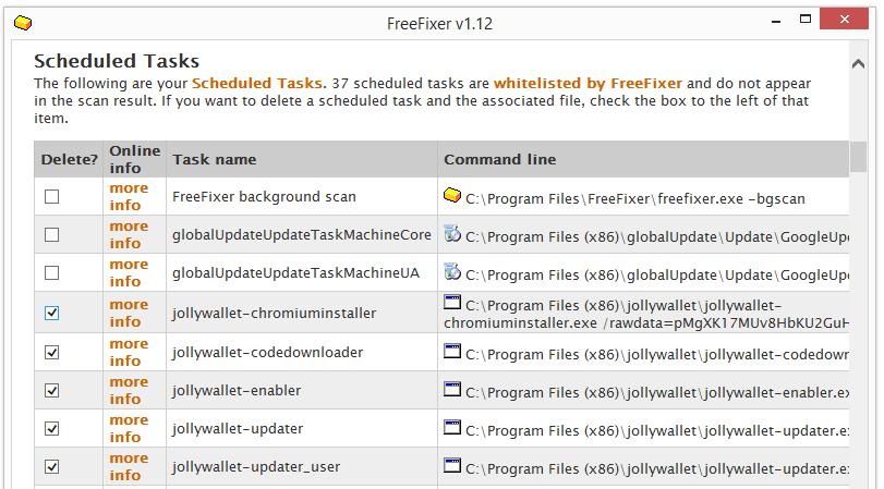 jollywallet scheduled tasks
