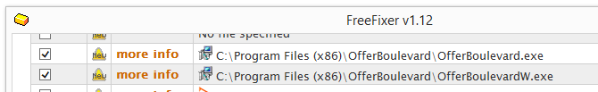 offerboulevard.exe offervboulewardw.exe removal with free fixer