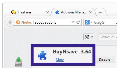 BuyNsave firefox