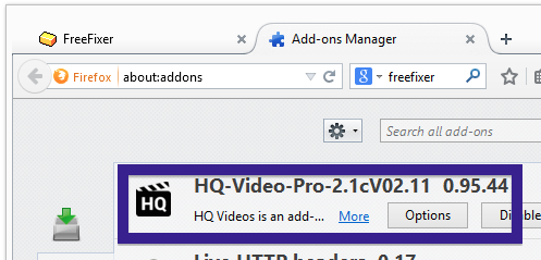 HQ-Video-Pro-2.1cV02.11 firefox add-on