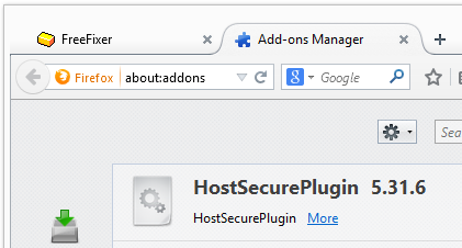 HostSecurePlugin firefox 5.31.6