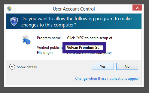 Volvan Premium SL publisher