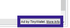 qiip.net Ad by TinyWallet