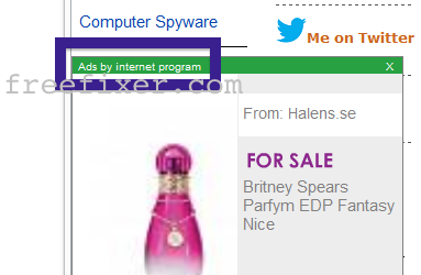 Ads by internet program