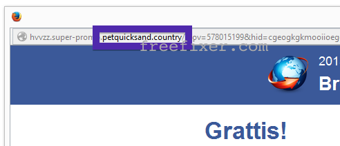 petquicksand.country pop up survey