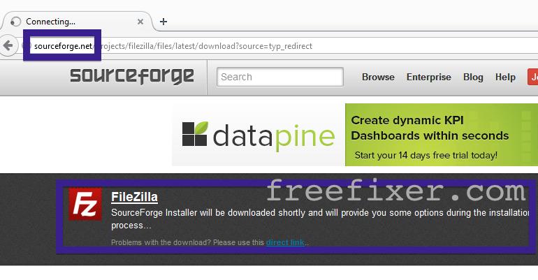 sourceforge downloader