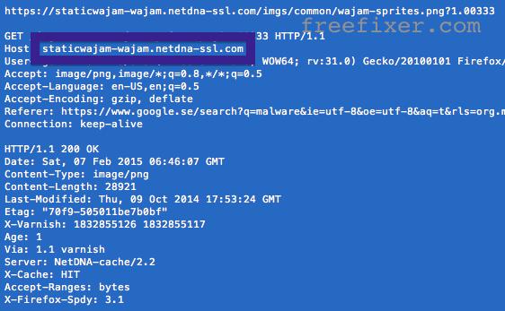 staticwajam-wajam.netdna-ssl.com connection