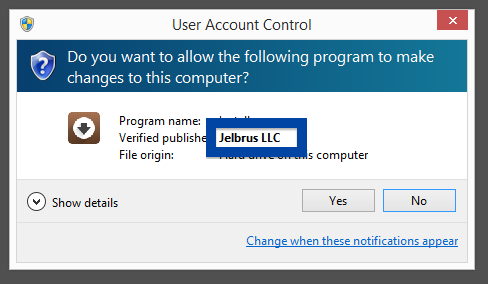 Jelbrus LLC make changes