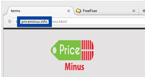 priceminus.info web site