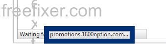 promotions.1800option.com status bar