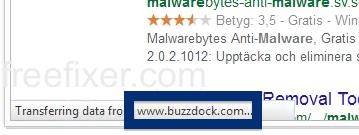 buzzdock.com status bar