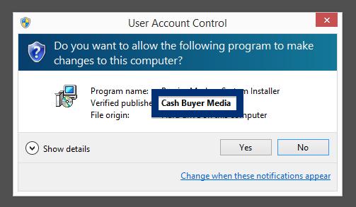 Cash Buyer Media publisher
