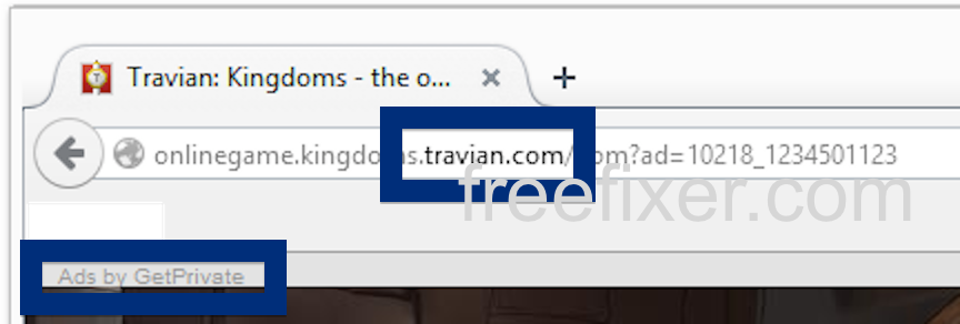 travian.com pop up