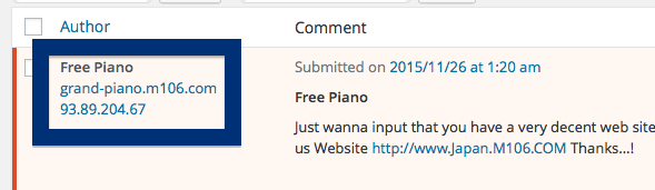 93.89.204.67 Free Piano spam