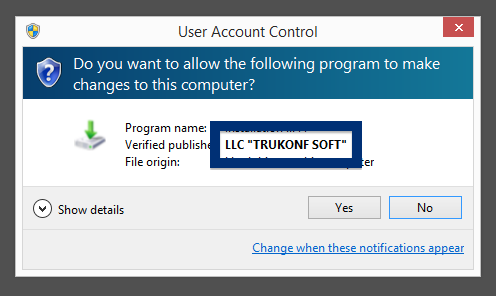 LLC TRUKONF SOFT publisher