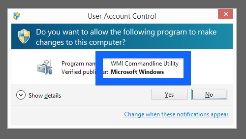 wmi-commandline-utility-pop-up