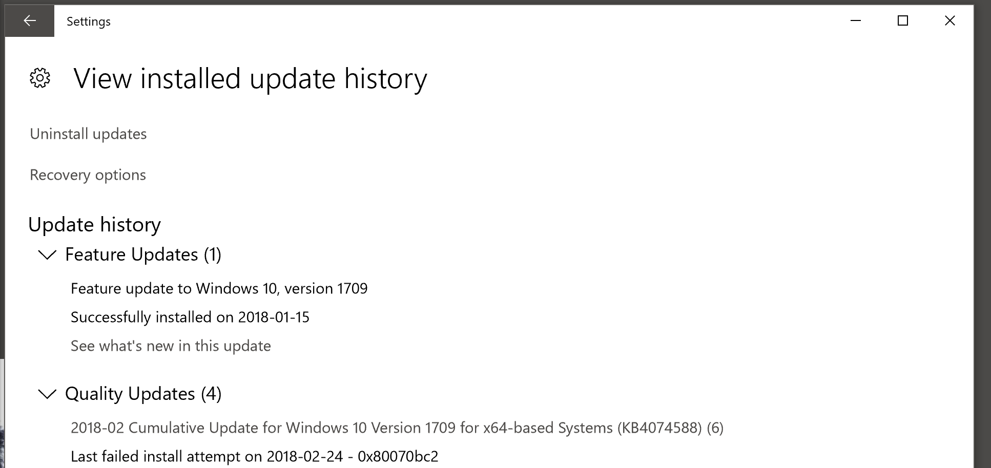 Try These Windows 10 1709 Failed To Install Symantec