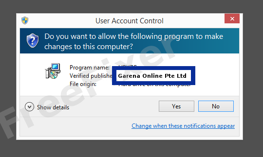 Garena Online Pte Ltd - 0 456% Detection Rate